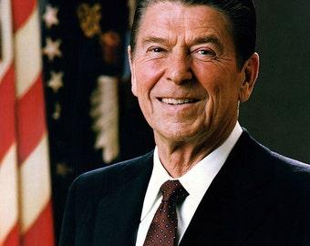 Ronald Reagan, Portrait, 1981