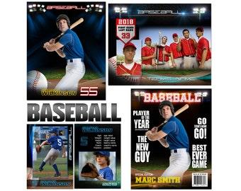 "Baseball ""Premier"" Custom Templates"