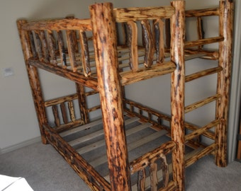 Pine and Gamble Oak Bunk Bed