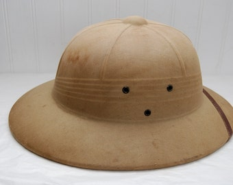 Pith Helmet Military Bee Keepers Hat
