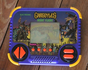 Vintage GARGOYLES Night Flight Handheld Game