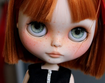 Eyechips for Blythe dolls - Gray realistic