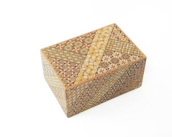 Puzzle Box -  6 sun 54 steps +1 Koyosegi, puzzle , wood puzzle, brain teaser, gift for engineers - FREE SHIPPING*