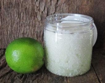 Organic Key Lime Pie Salt Scrub 8 oz.