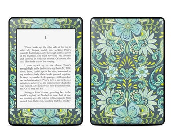 Amazon Kindle Skin - Lydia by Nicole Tamarin - Sticker Decal - Fits Paperwhite, Fire, Voyage, Touch, Oasis