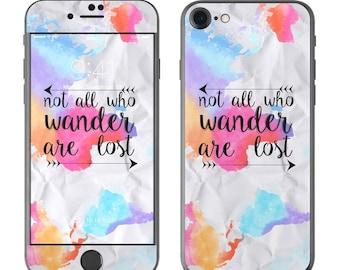 Wander by Kelly Krieger - iPhone 7/7 Plus Skin - Sticker Decal