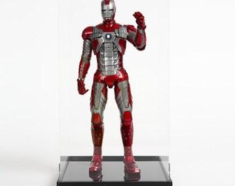 "12"" figure Display Case High Quality Transparent Acrylic Box(STAR CASE)"