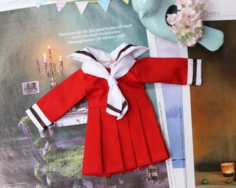 School uniform : Doll clothes for Yosd.