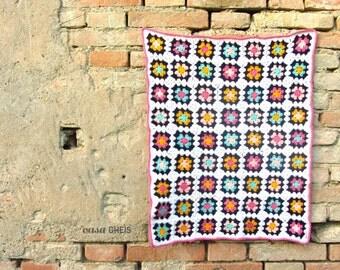 Baby Blanket *GRANNY SQUARE* crochet