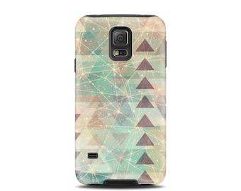 For galaxy s5 case, for Galaxy s6 case, for galaxy s7 case, for galaxy S4 case, for galaxy s3 case, gift idea, phone case - Nebula Triangle