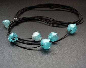 Flower necklace