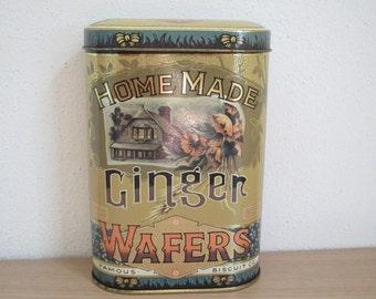 Daher Ginger Wafers Tin