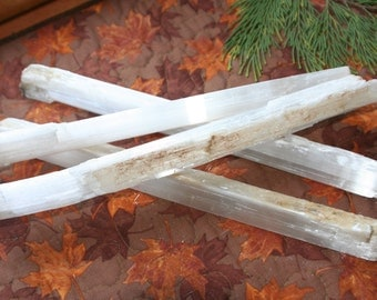 Large Selenite Stick / Wand - Blessed