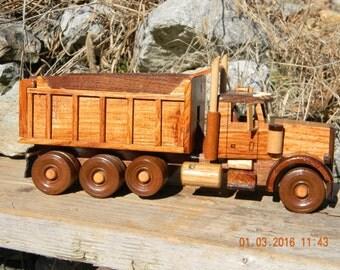 Wooden Dump Truck #7