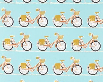 Cykel in Tangerine/sulphur/marine-One Pillow Cover