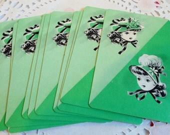 Vintage Playing Cards (10) Vintage Ephemera