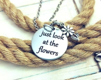 Just look at the flowers,carol, the walkind dead, lizzie, daryl dixon, zombies, apocalypse, walkers, rick grimes, maggie