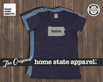 Pennsylvania Home. T-shirt- Womens Cut