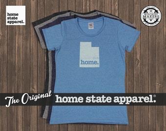 Utah Home. T-shirt- Womens Cut