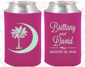 Raspberry Wedding, Can Coolers, Raspberry Wedding Favors, Raspberry Wedding Gift, Raspberry Party Decorations (78)