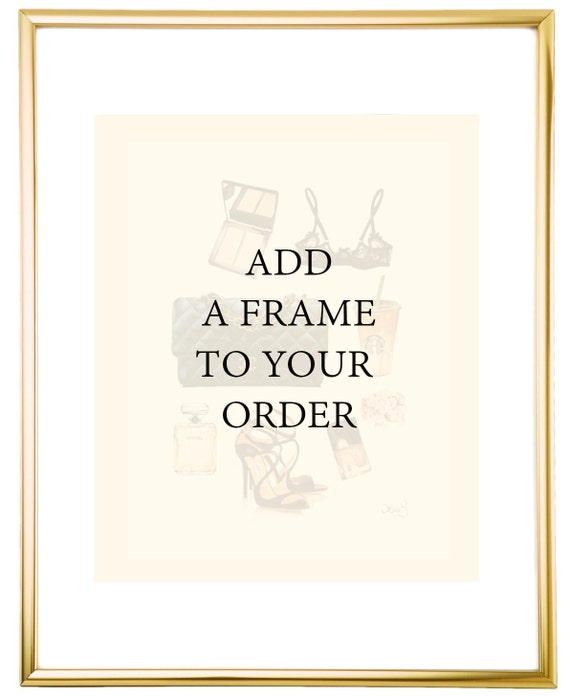 Picture Frame 11 X 14 Gold Metal Frame For 8 X 10 By