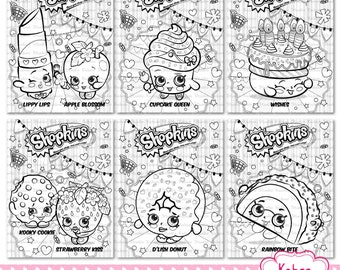 Print Shopkins Season 4 Limited Edition Coloring Pages Free