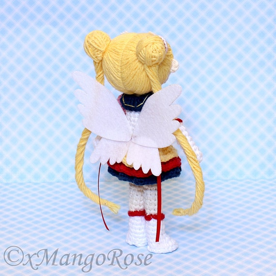 how to make a paper sailor moon doll