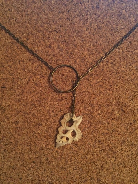 Shell Lariat Necklace