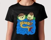 "Princess Bubblegum's rock T-shirt Adventure Time ""What was missing"""