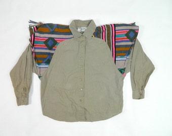 Vintage Western Blouse