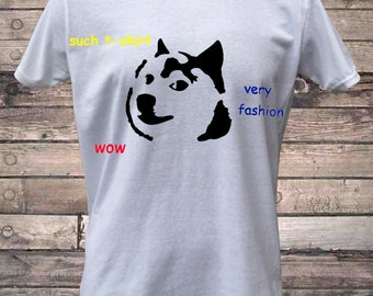 Doge Dog Internet Meme Such T-Shirt