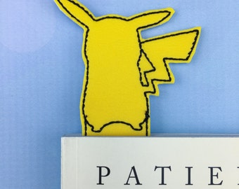 Children's Party Favors - Bookmark - Pokemon Bookmark -  Pokemon - Pocket Monsters - Pikachu Bookmark - Back to school supplies