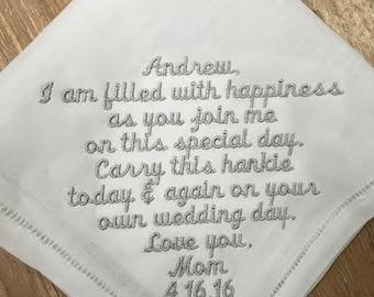 Child Wedding Handkerchief