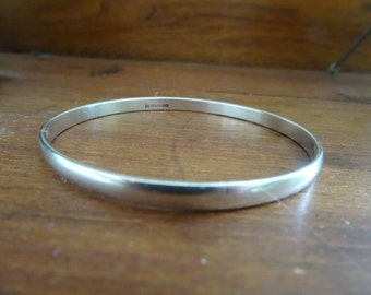 Vintage Sterling Bracelet Bangle Silver