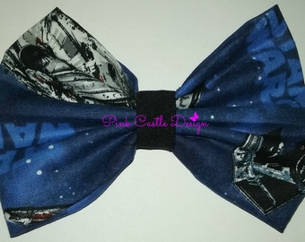Star Wars Bowtie,Star Wars (Inspired) Bow Tie,Infant,Baby,Toddler,Girl,Boy,Ring Bearer,Accessory,Girl Hair Clip,Animal Collar,PCD0206