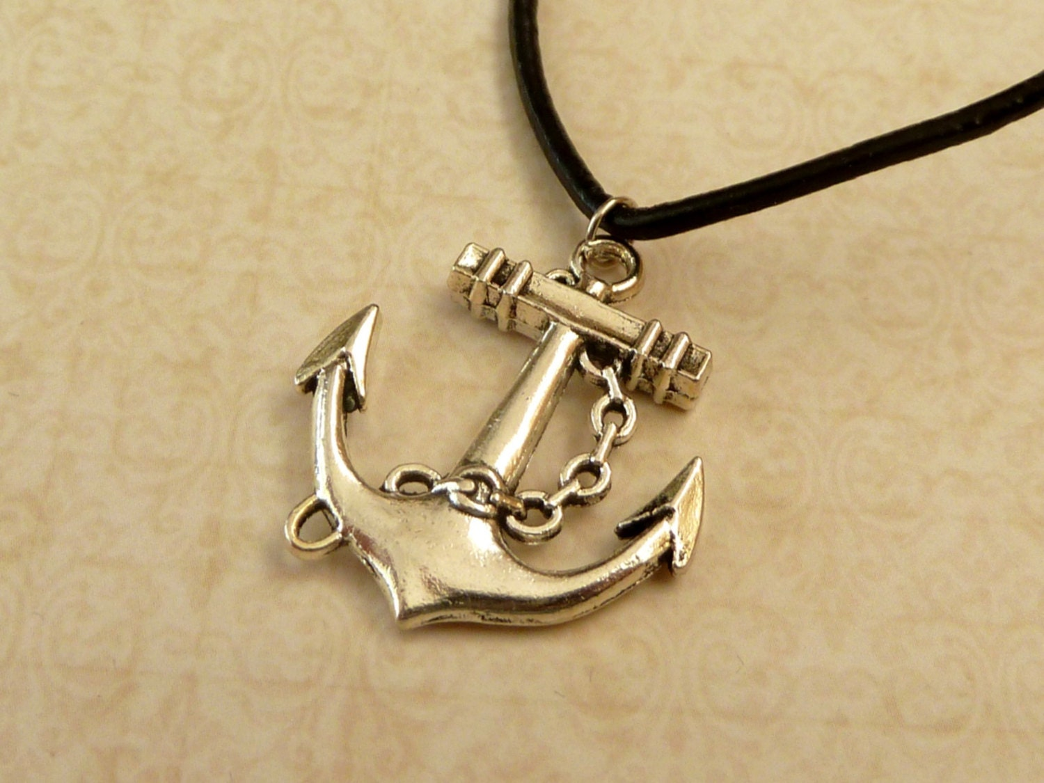 anchor necklace mens jewelry necklace navigation