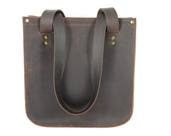 Handmade Leather Shoulder Bag, Handmade Leather Bag, Leather Handbag, Leather Shoulder Bag