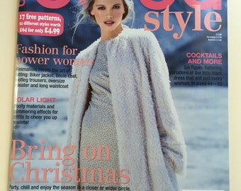 12/2015 BurdaStyle Magazine New with Complete Patterns