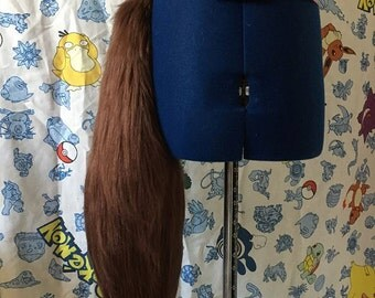 Swishy fursuit tail