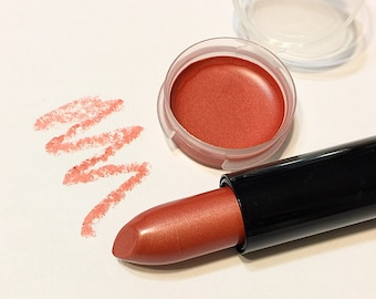 JUST PEACHY Natural CLASSIC Mineral Lipstick - Gluten Free Lipstick