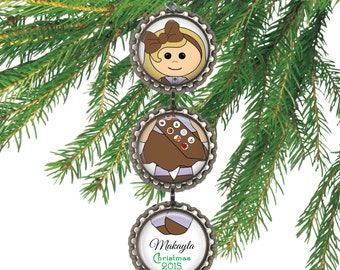 SALE! Scout Christmas Ornament -  Personalized Christmas Ornament - Scouts