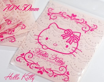 10pcs Hello Kitty Ziplock / 50 x 70 mm