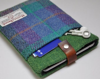 "HARRIS TWEED 7""/10"" iPad mini /Kindle Fire/Kindle Fire HDX /Galaxy /Nexus/iPad/iPad pro case - Bespoke"