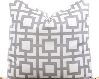 gray throw pillows geometric pillow covers gray and white decorative pillowcases soft