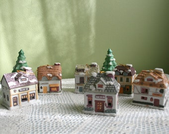 String Lights For Christmas Village : String of bells Etsy