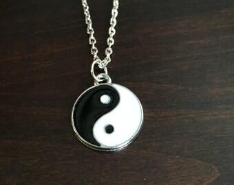 Ying Yang Necklace, Ying Yang Pendant, Yin Yang, Ying Yang, Yin Yang Necklace, Yin and Yang, Ying and Yang, Yin and Yang Necklace, Necklace