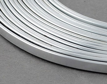 3x1 mm Aluminum Craft Wire For Jewellery and Craft Making.