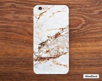 iPhone 6 Plus Case back Cover Yellow iPhone 7 Case Marble protector