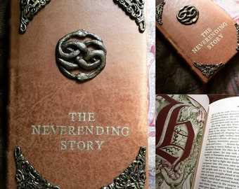 The Neverending Story Leatherbound Book