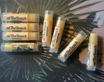 "Lip balm LIP BALM moisturizer-""At the Beach""-Made in Italy-100% Bio-** handmade/Hand Made **"